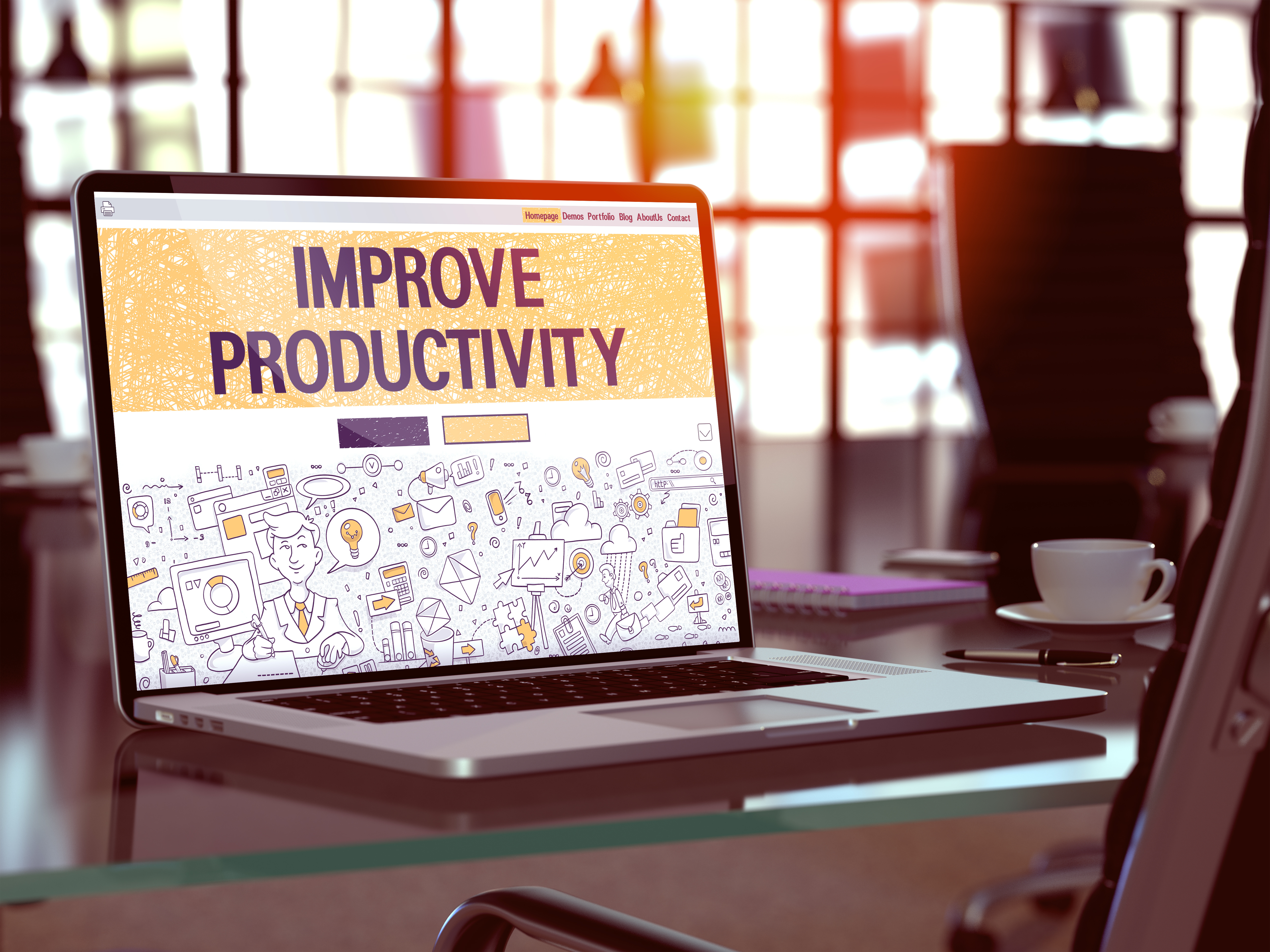 Banish Inefficiency: 7 Surprising and New Ways to Improve Employee Productivity in the Workplace
