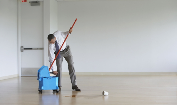 Starting A Commercial Janitorial Company At A Young Age Might Be A Good Idea