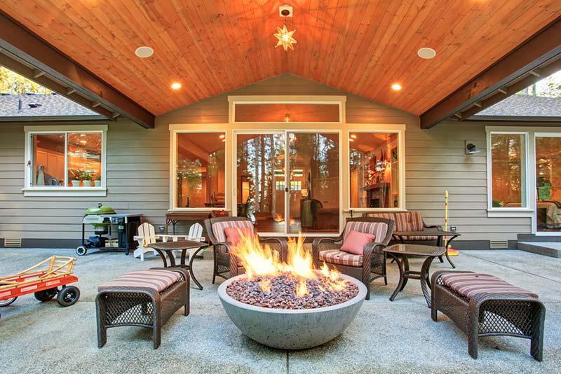 Heating Your Outdoor Living Spaces During Winter