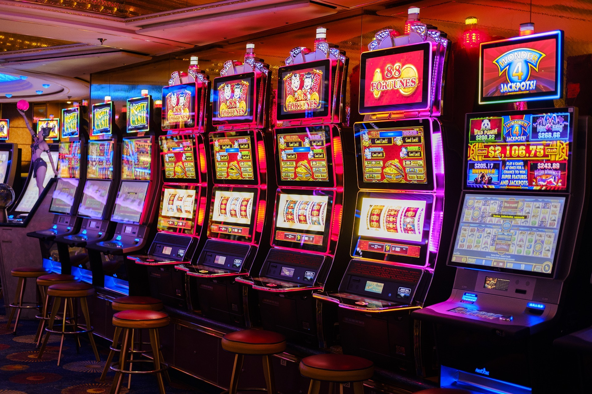 A Winning Formula for Playing Casino Slots