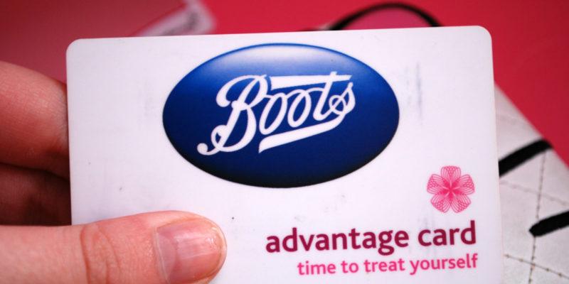 Boots Advantage Card Change