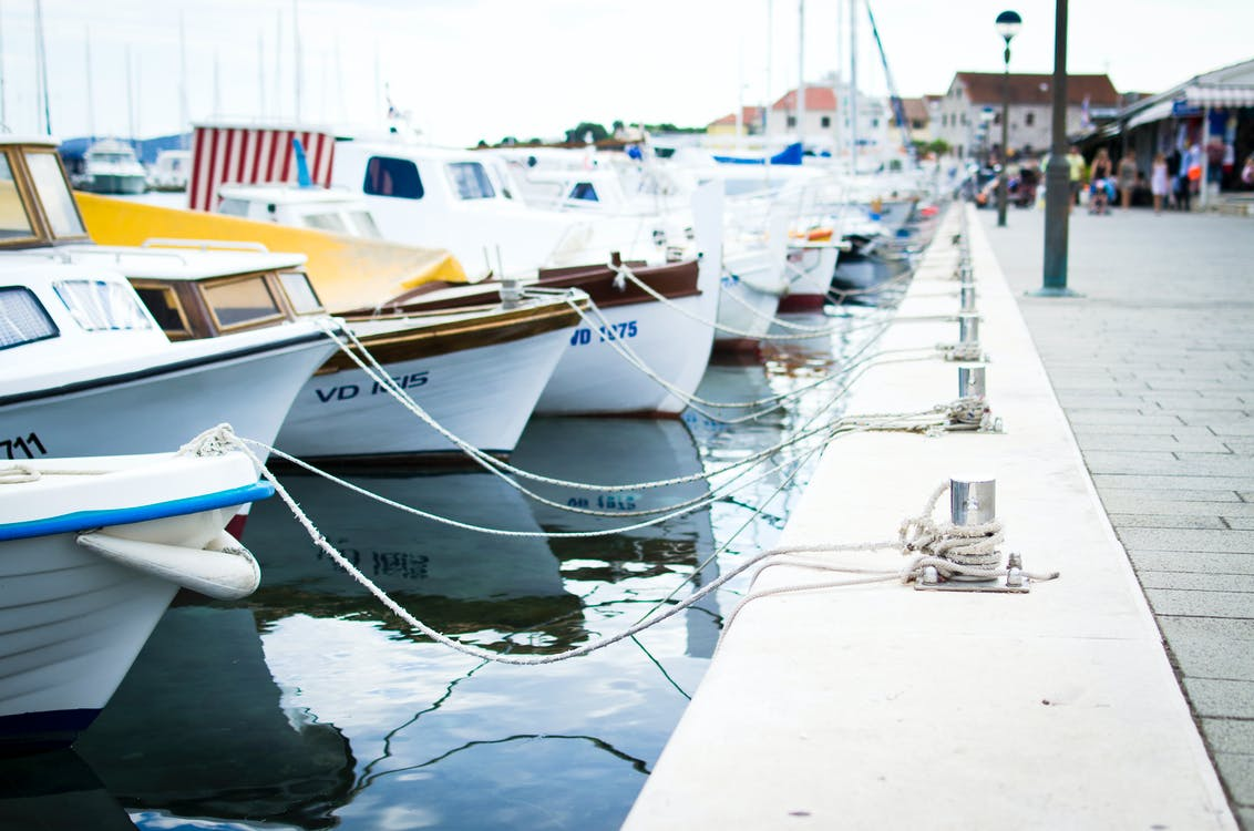 Boats Near Dock