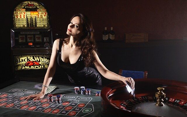 Cards, Poker, Casino, Girl, Game, Play, Roulette, Money