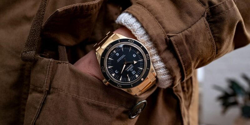 Omega Seamaster 300 Precious Metal Watches in Gold, Platinum - Bloomberg