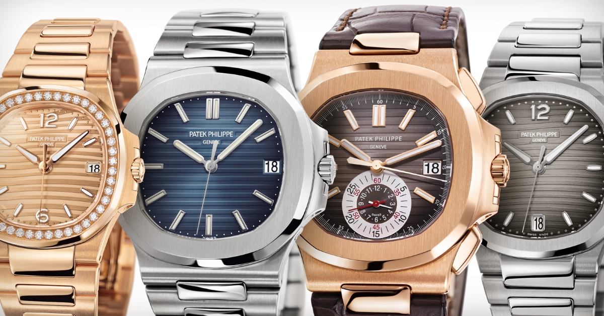 Patek Philippe | Nautilus Collection | Luxury Sport Watches